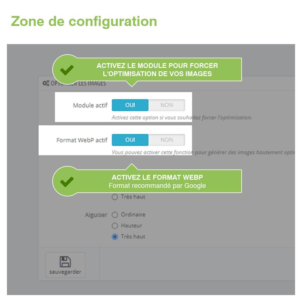 module - Visuels des produits - Image Optimizer et Webp Converter – PrestaShop Module - 2