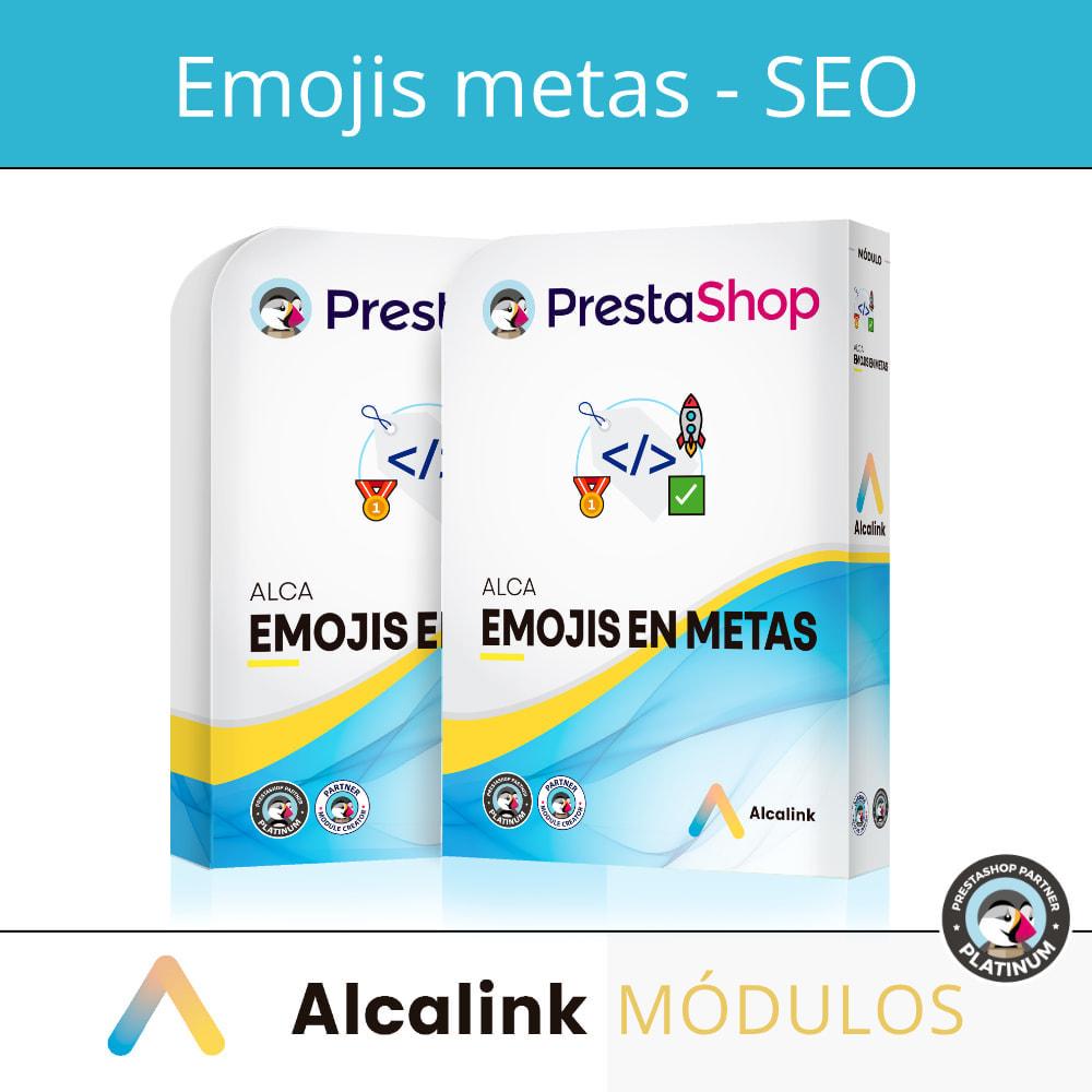 module - SEO (Posicionamiento en buscadores) - Emojis en metas (productos, categorías, CMS...) - SEO - 1