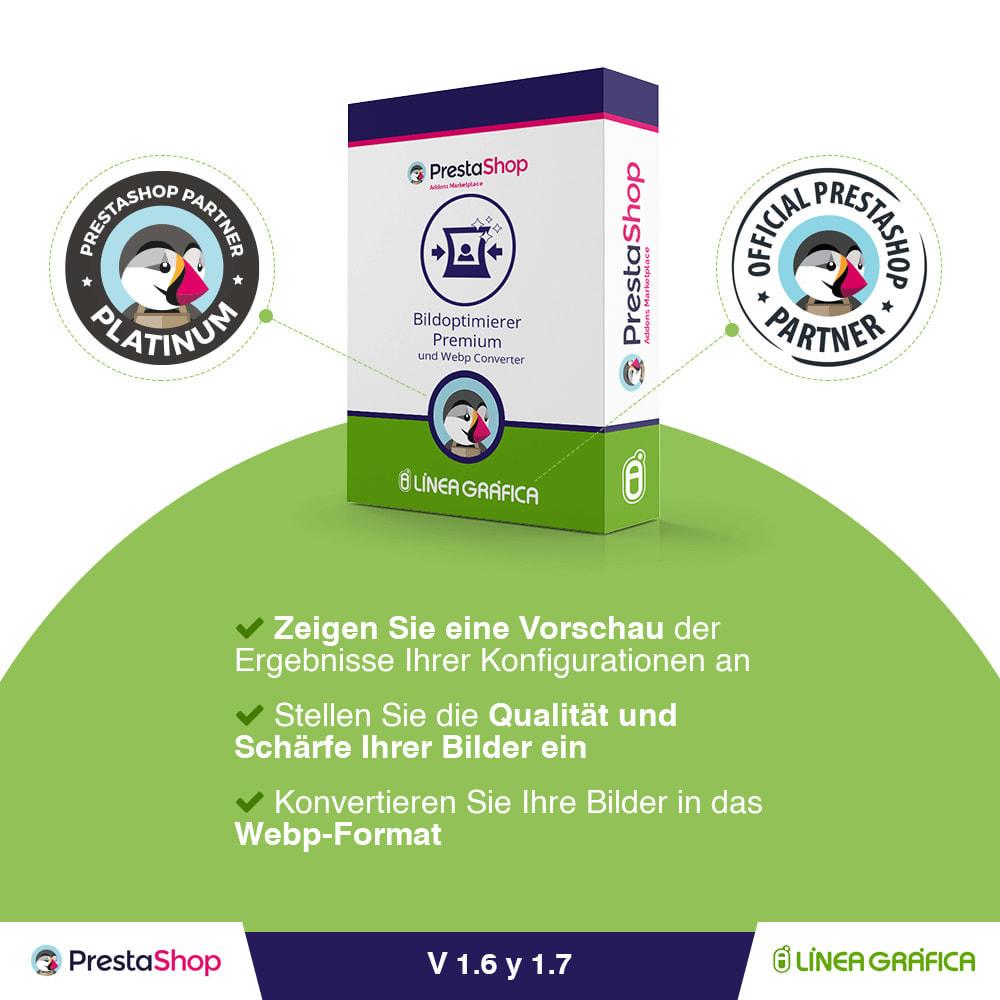 module - Produktvisualisierung - Bildoptimierer Premium und Webp Converter - 1