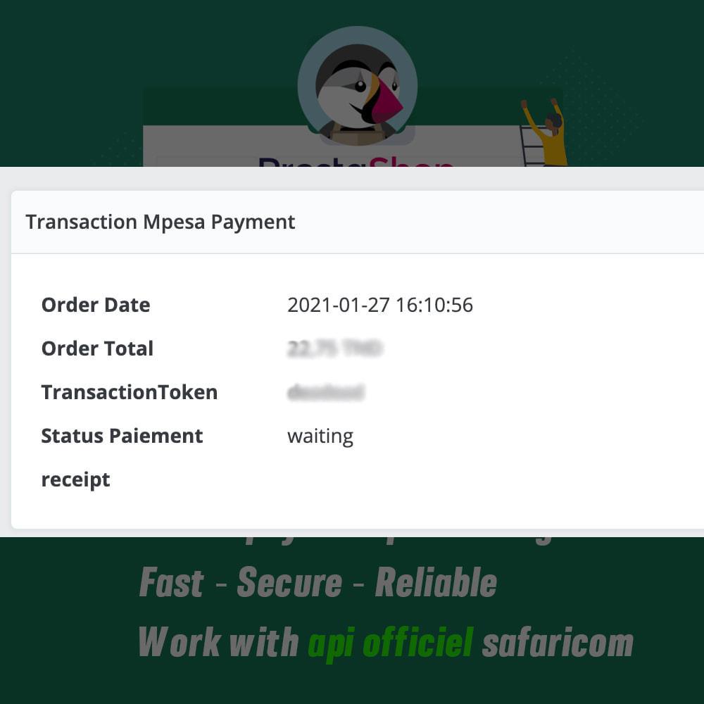 module - Альтернативных способов оплаты - Mpesa Payment Gateway - 3