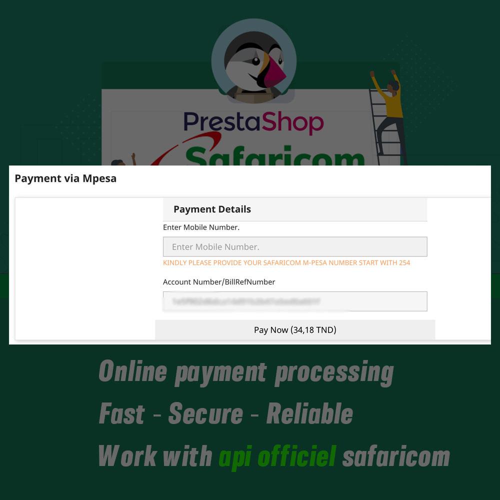 module - Альтернативных способов оплаты - Mpesa Payment Gateway - 5