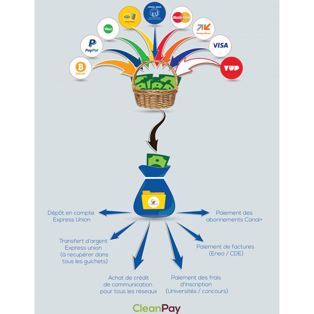 module - Autres moyens de paiement - CleanPay – Paiement mobile simple & sécurisé - 1