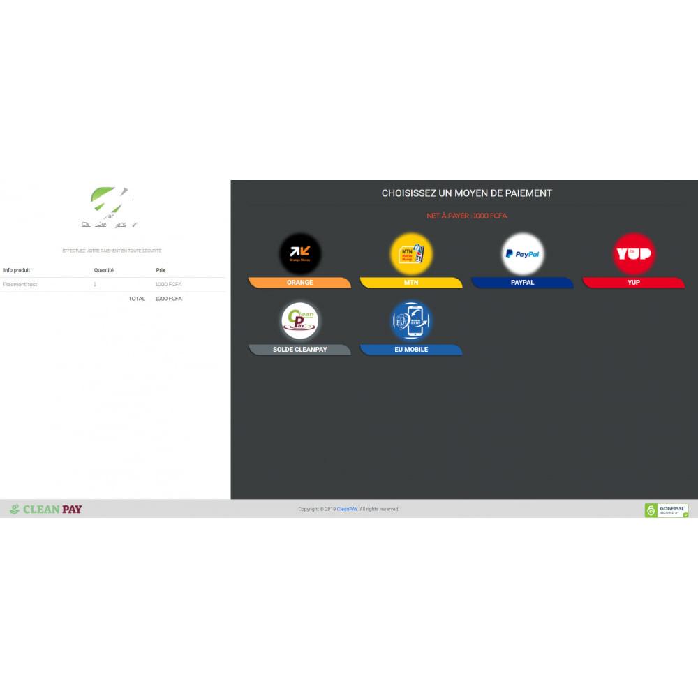 module - Autres moyens de paiement - CleanPay – Paiement mobile simple & sécurisé - 2