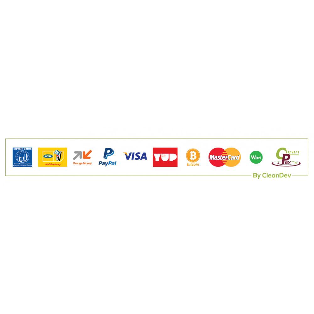 module - Autres moyens de paiement - CleanPay – Paiement mobile simple & sécurisé - 3