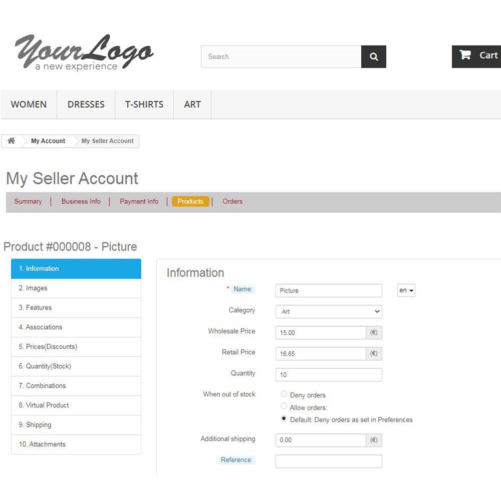 module - Criação de Marketplace - Agile Multiple Seller 1.6 - 6