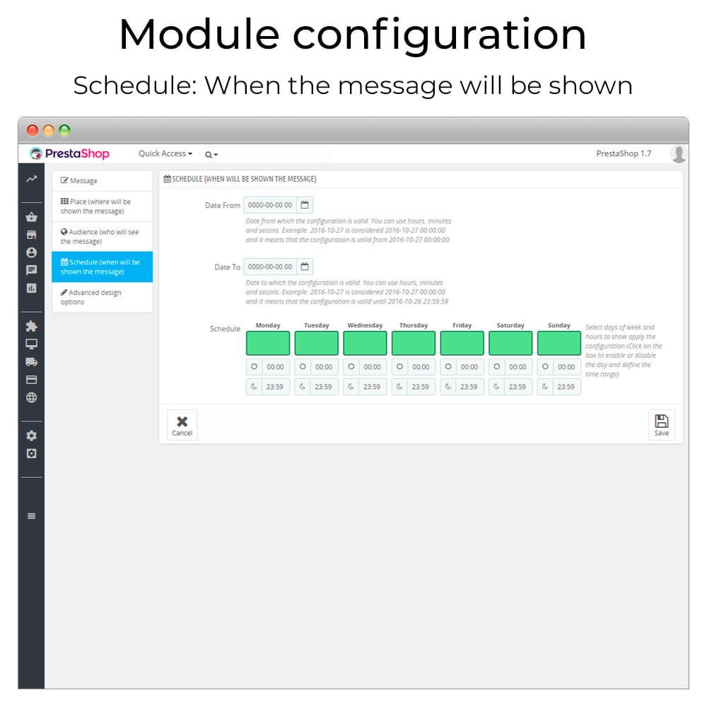 module - Personalizzazione pagine - Messages Anywhere - 6