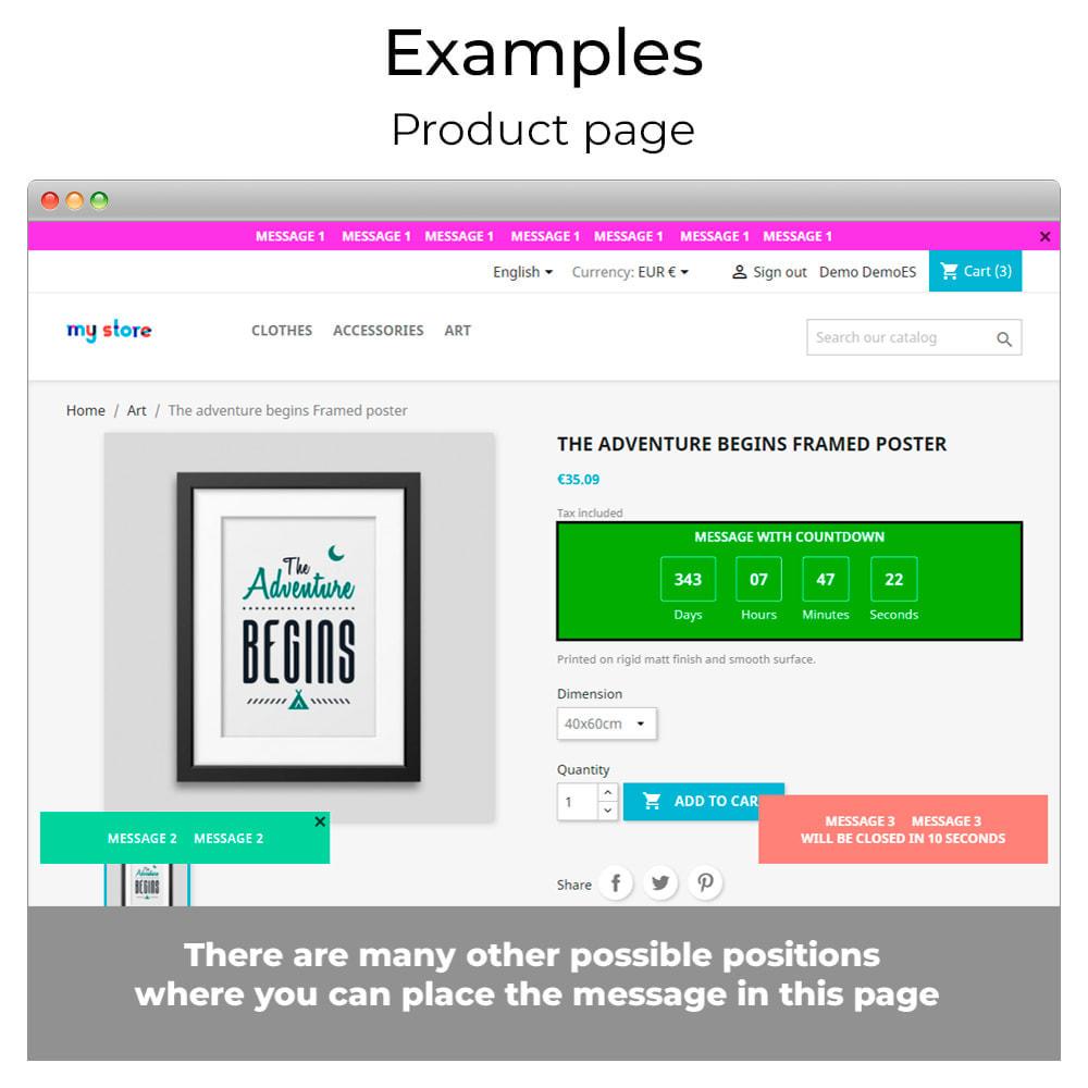 module - Personalizzazione pagine - Messages Anywhere - 9