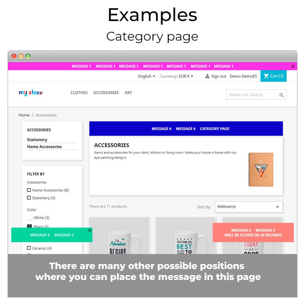 module - Personalizzazione pagine - Messages Anywhere - 10