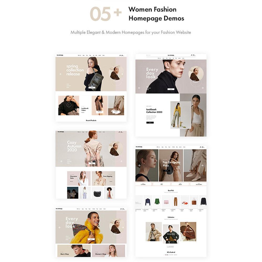 theme - Moda & Obuwie - Leo Woncep High-End Women Fashion Prestashop Theme - 2