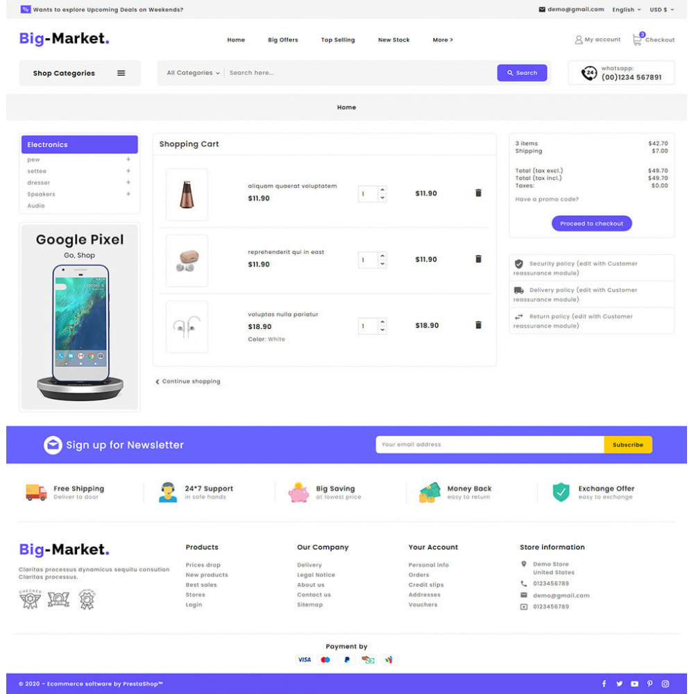 theme - Electronique & High Tech - Big Market - Multi-purpose Mega Store - 15