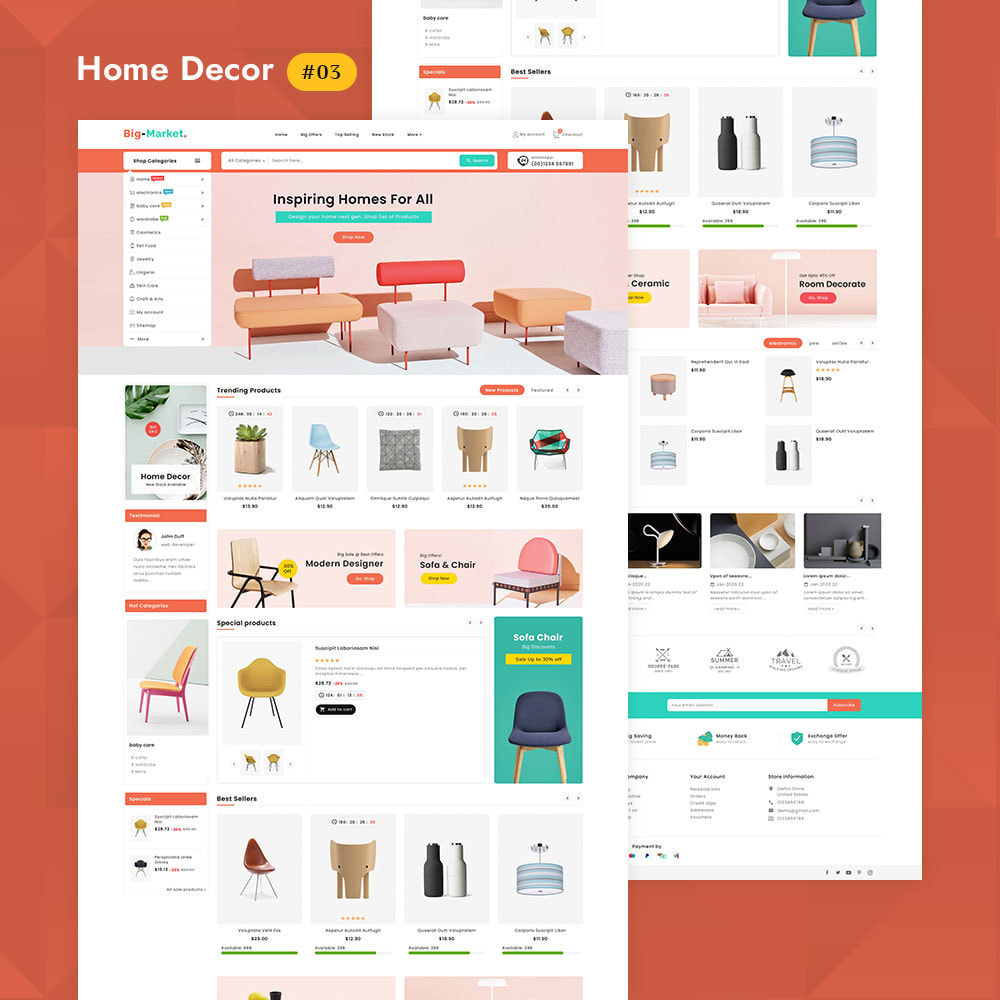 theme - Electrónica e High Tech - Big Market - Multi-purpose Mega Store - 4