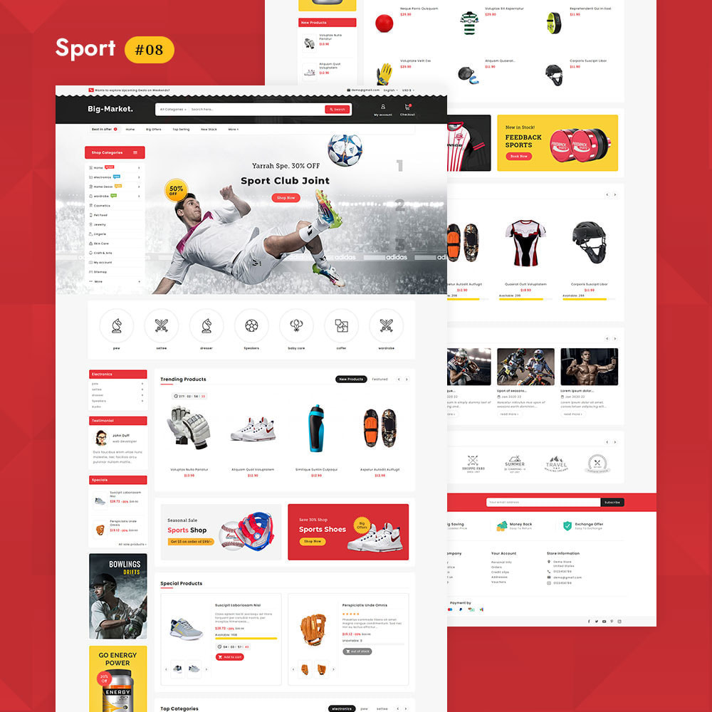 theme - Electrónica e High Tech - Big Market - Multi-purpose Mega Store - 9