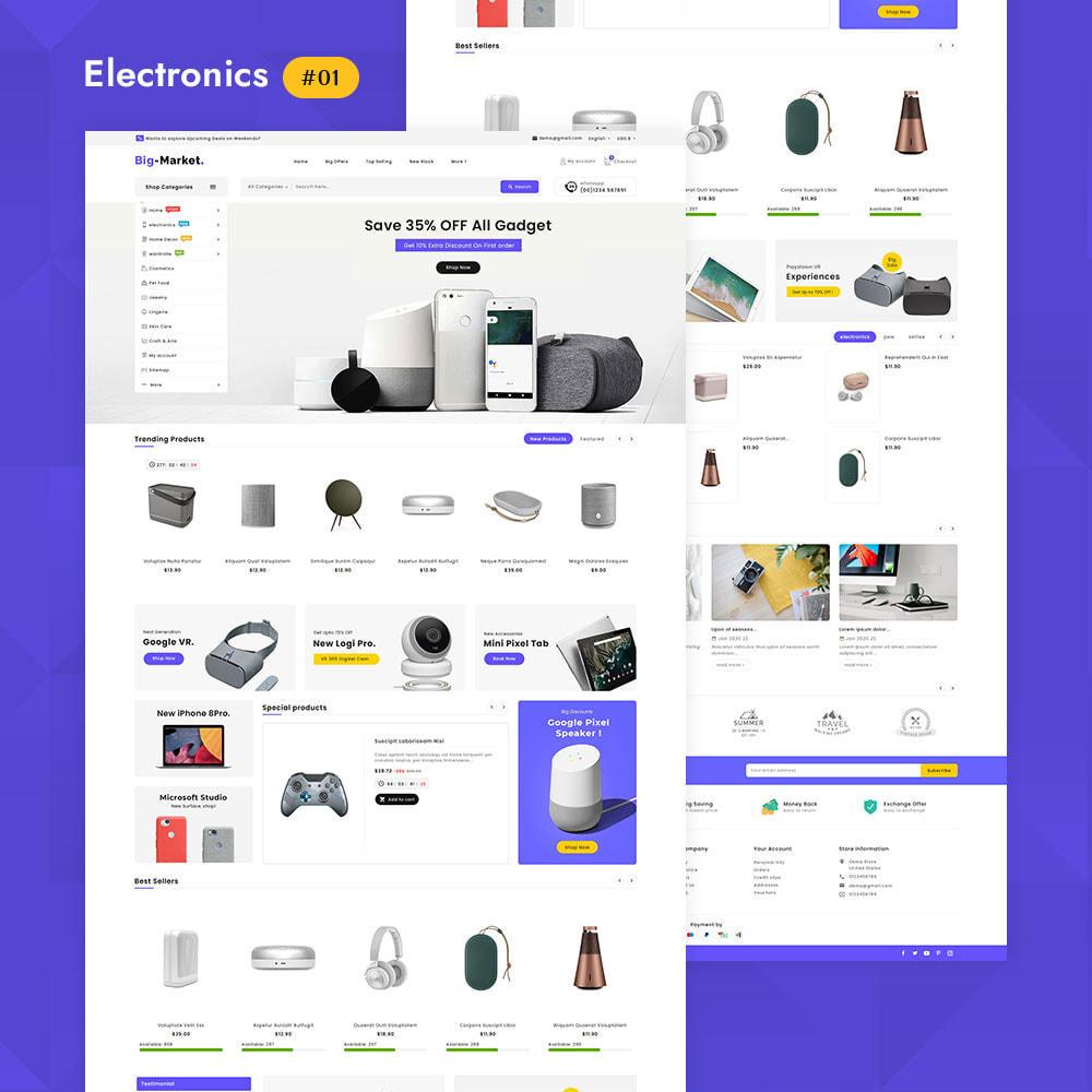 theme - Elettronica & High Tech - Big Market - Multi-purpose Mega Store - 2