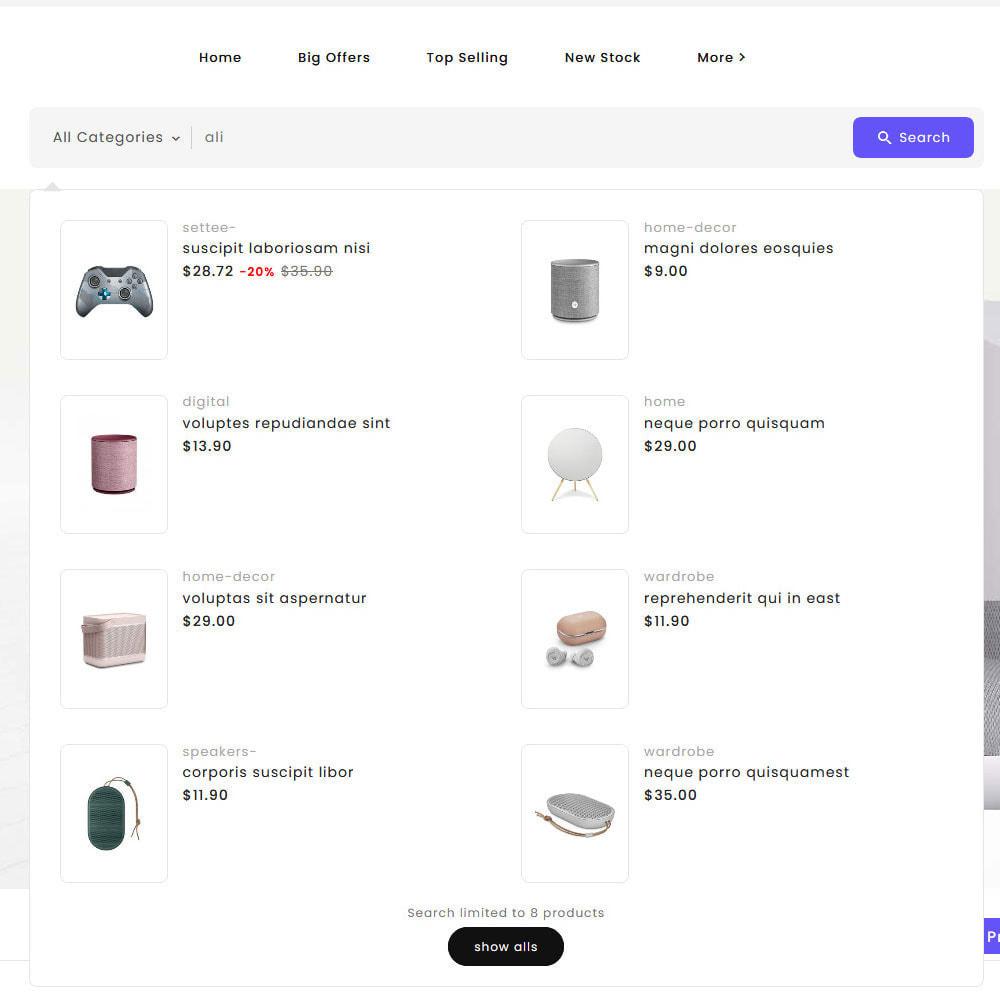 theme - Elettronica & High Tech - Big Market - Multi-purpose Mega Store - 20