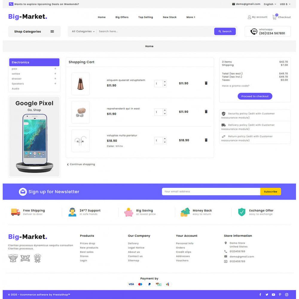 theme - Eletrônicos & High Tech - Big Market - Multi-purpose Mega Store - 16
