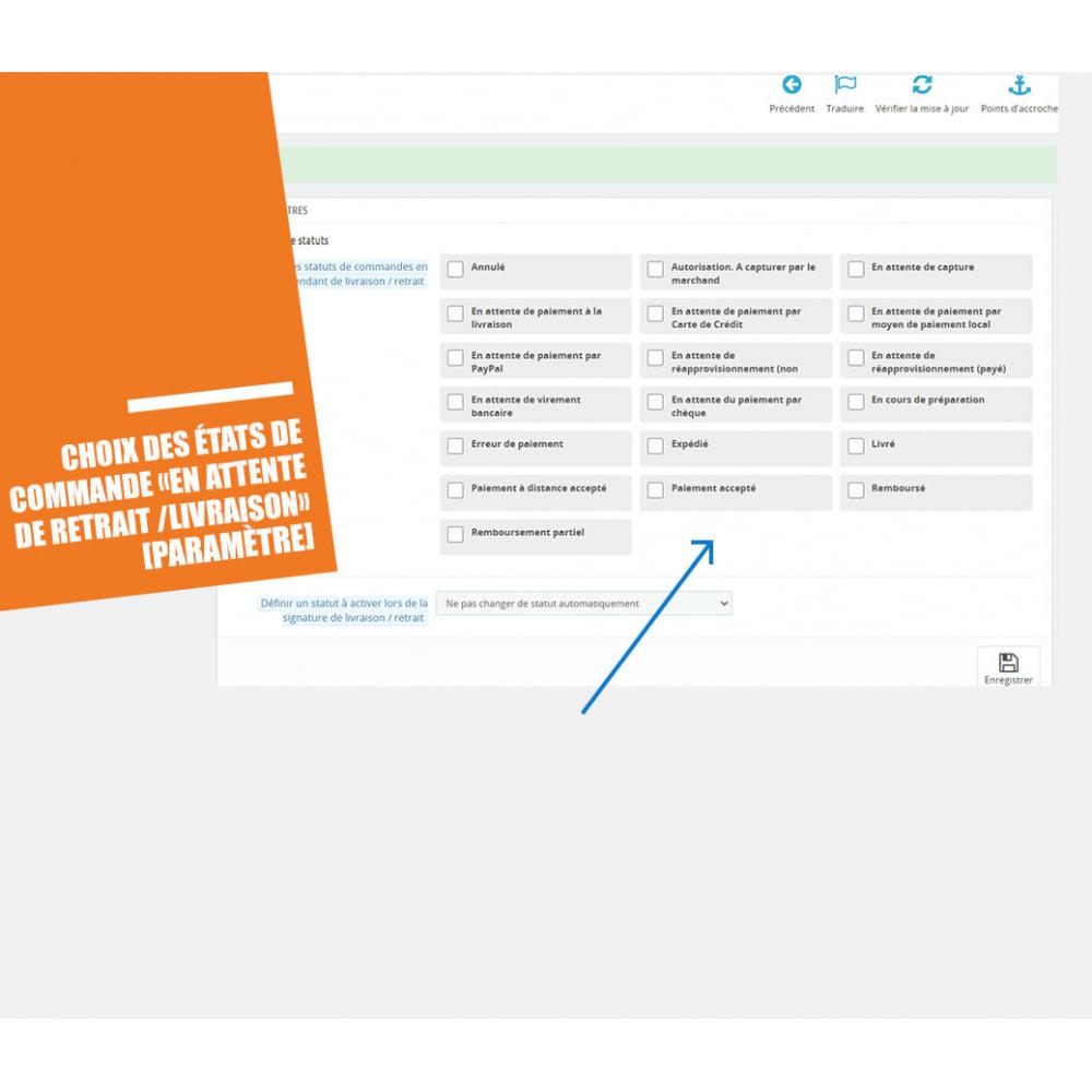 module - Gestion des Commandes - Preuve de livraison / retrait, signature électronique - 6