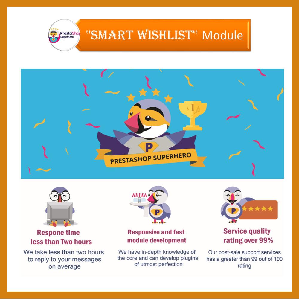 module - Lista życzeń & Karta podarunkowa - Smart Wishlist - 3