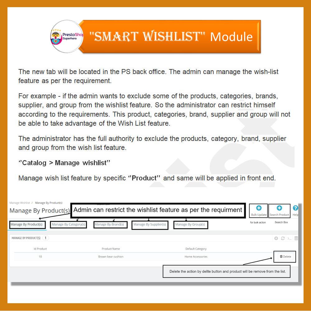 module - Lista życzeń & Karta podarunkowa - Smart Wishlist - 8
