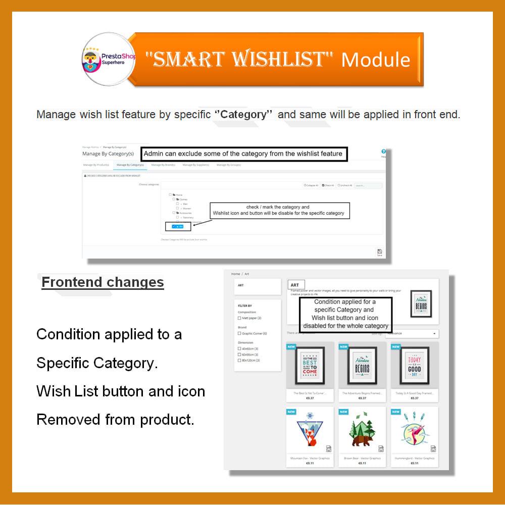 module - Lista życzeń & Karta podarunkowa - Smart Wishlist - 10