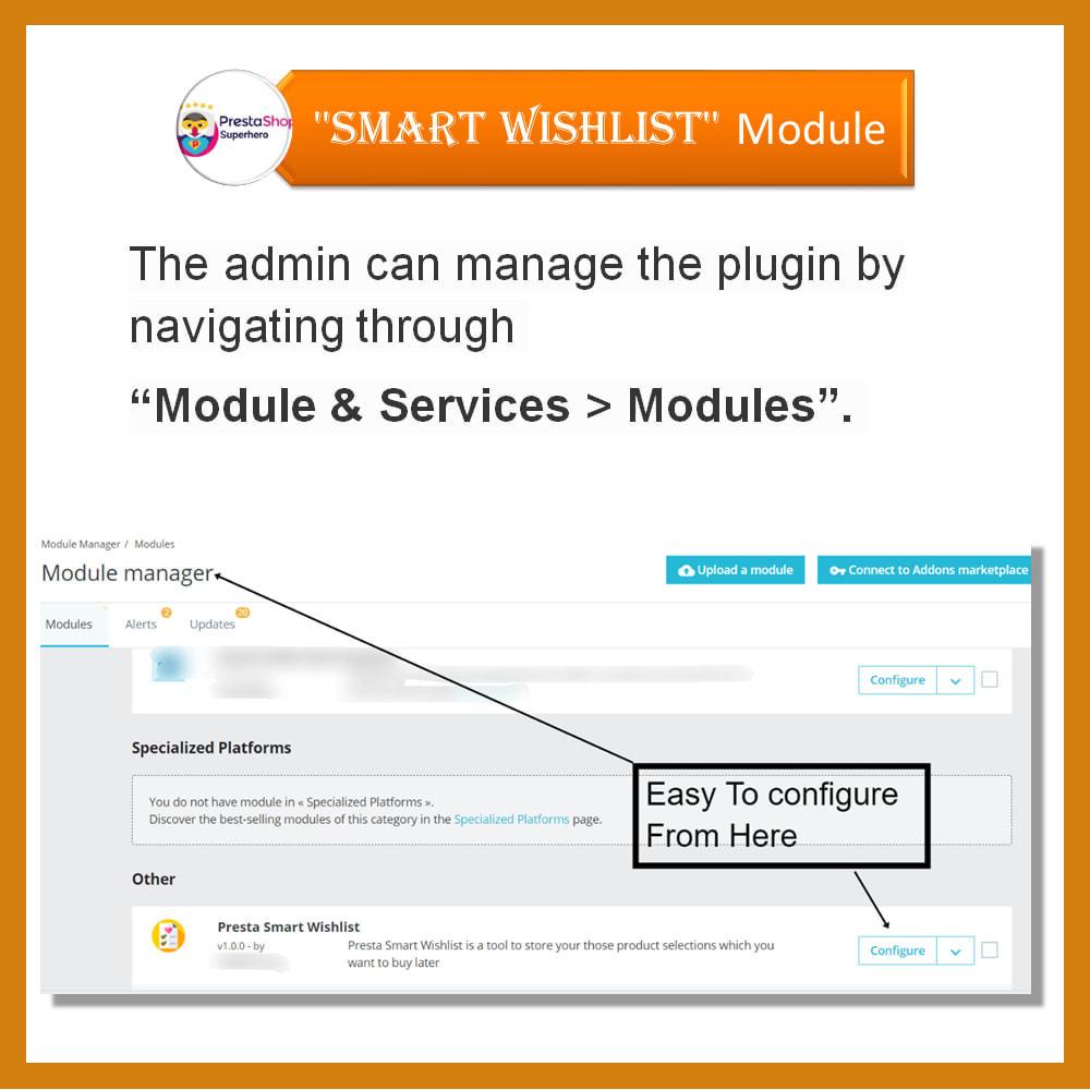 module - Lista życzeń & Karta podarunkowa - Smart Wishlist - 13