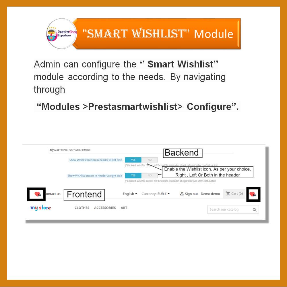 module - Lista życzeń & Karta podarunkowa - Smart Wishlist - 14