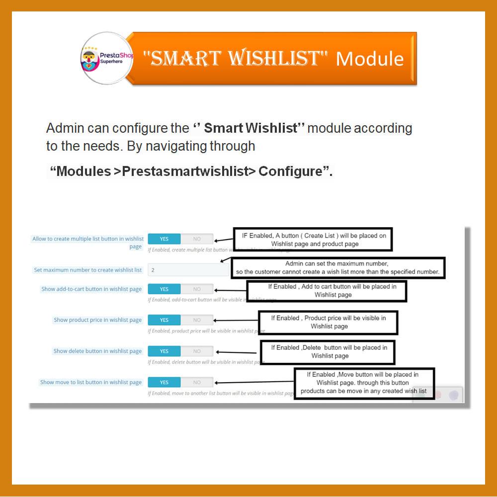 module - Lista życzeń & Karta podarunkowa - Smart Wishlist - 15