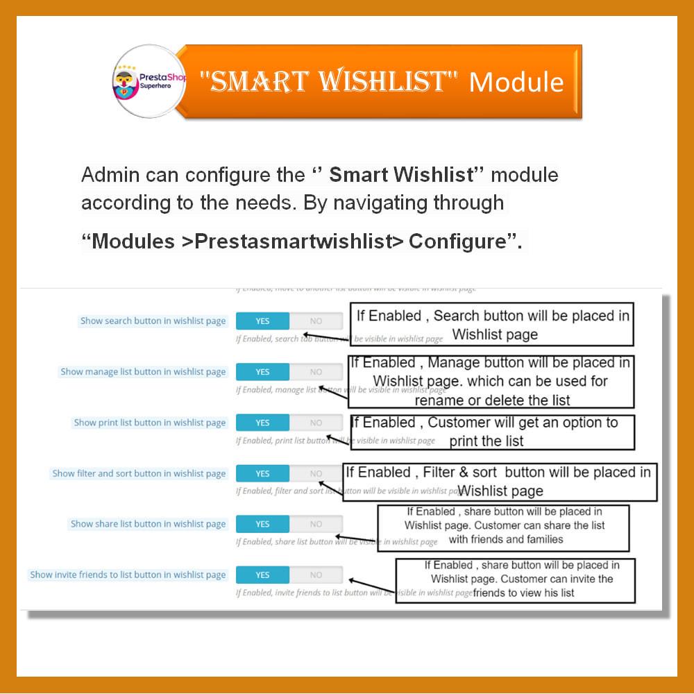 module - Lista życzeń & Karta podarunkowa - Smart Wishlist - 17