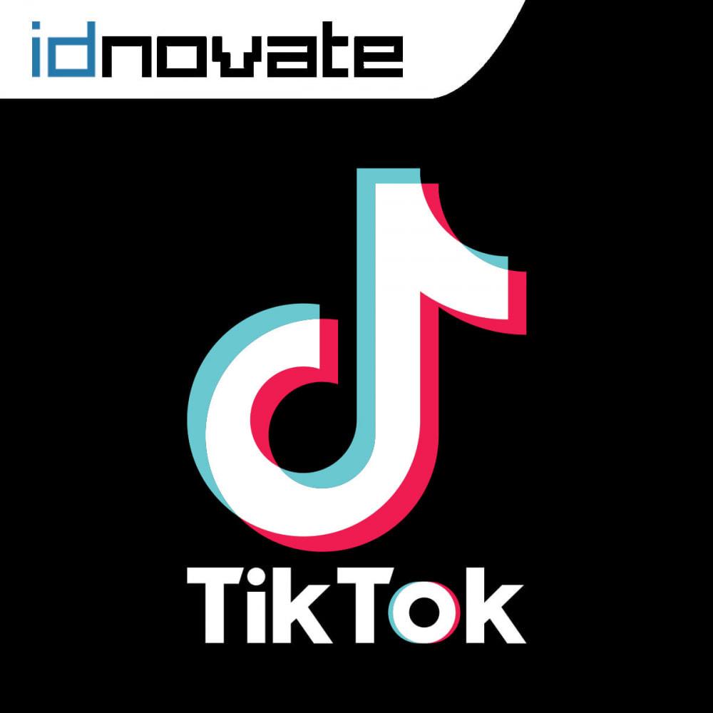 module - Widgets réseaux sociaux - TikTok Pixel -  Track your TikTok ads' impact - 1