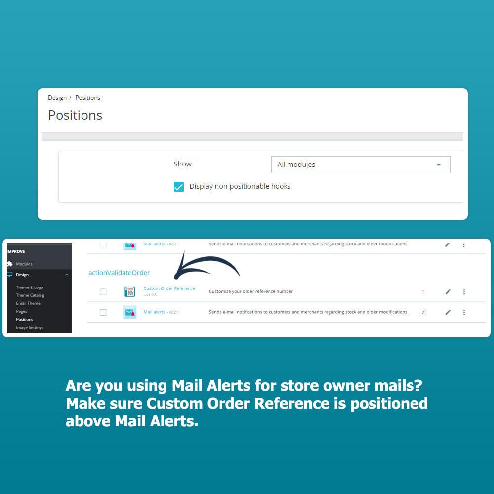 module - Zarządzanie zamówieniami - Custom Order Reference - 4