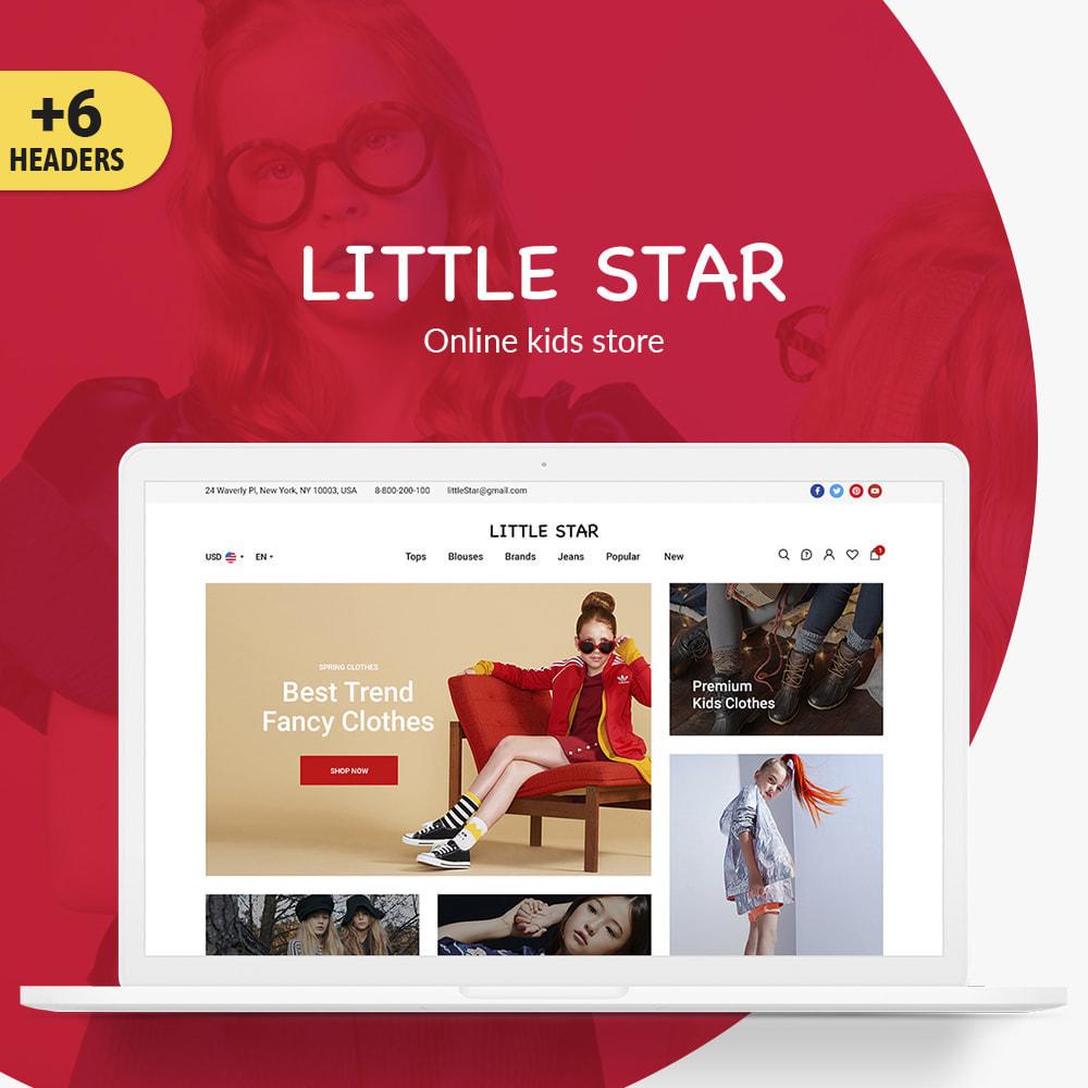theme - Crianças & Brinquedos - Little Star - 1