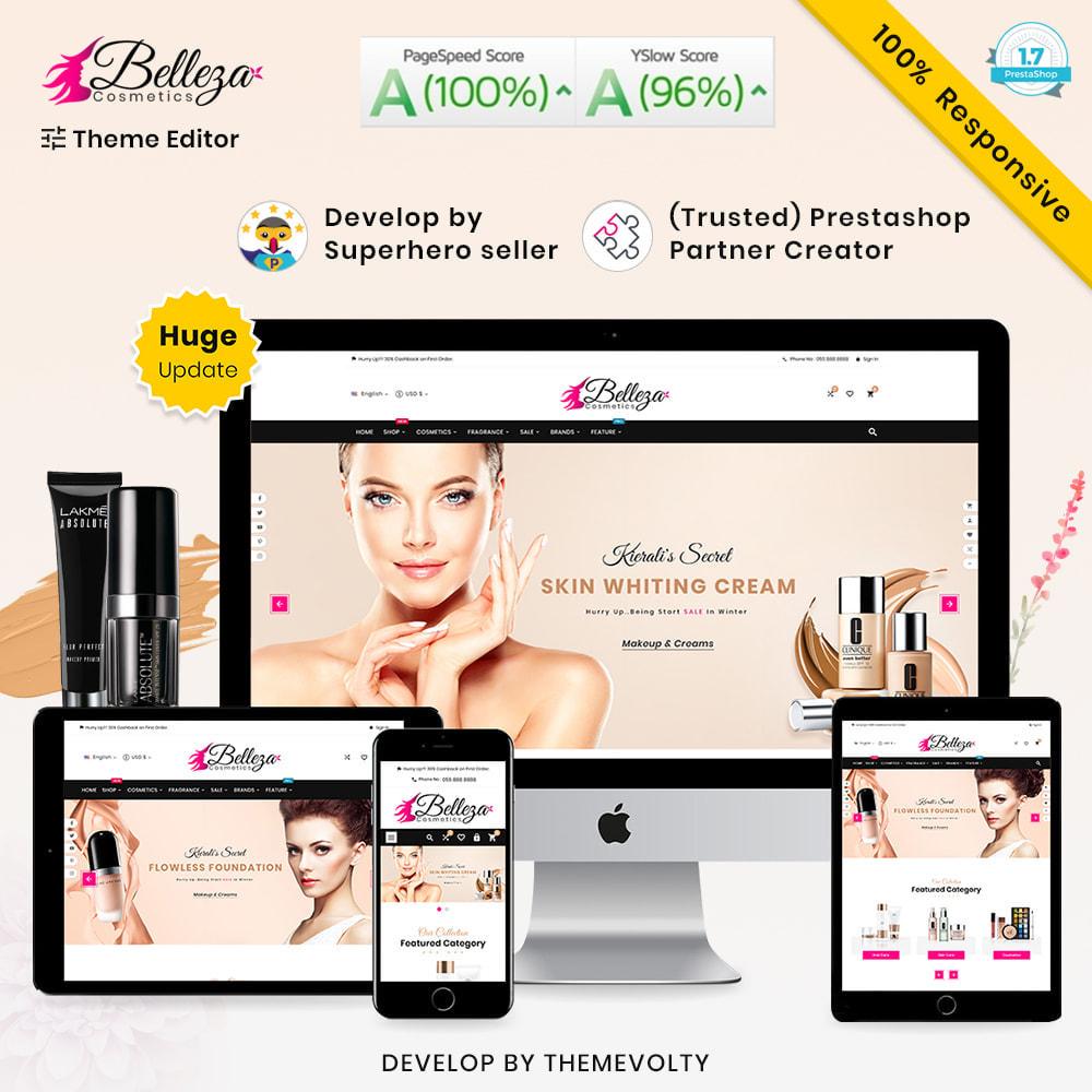 theme - Zdrowie & Uroda - Belleza Mega Rich Beauty–Cosmetics Salon Super Store - 1
