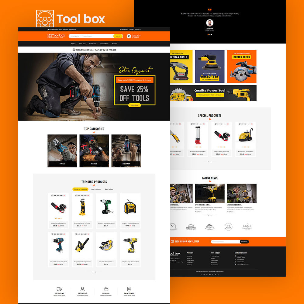 theme - Electronics & Computers - ToolBox - Drill Tools & Equipment - 2