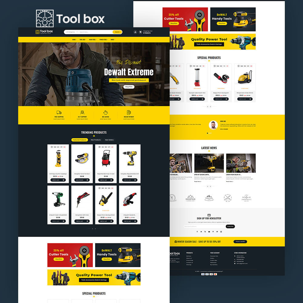 theme - Electronics & Computers - ToolBox - Drill Tools & Equipment - 6