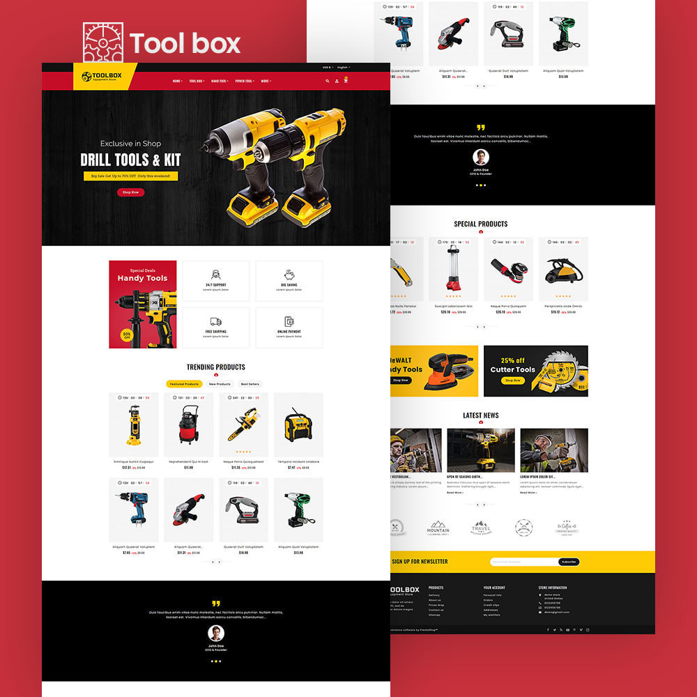 theme - Electronique & High Tech - ToolBox - Drill Tools & Equipment - 6