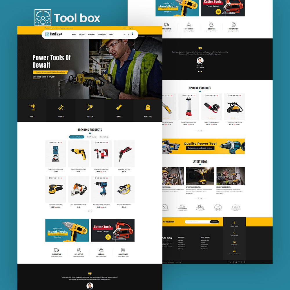 theme - Electrónica e High Tech - ToolBox - Drill Tools & Equipment - 5