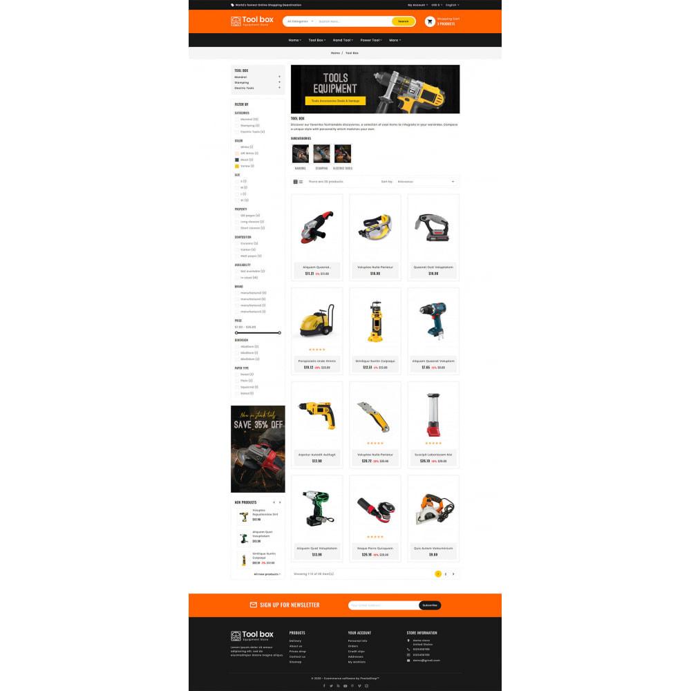 theme - Electrónica e High Tech - ToolBox - Drill Tools & Equipment - 8