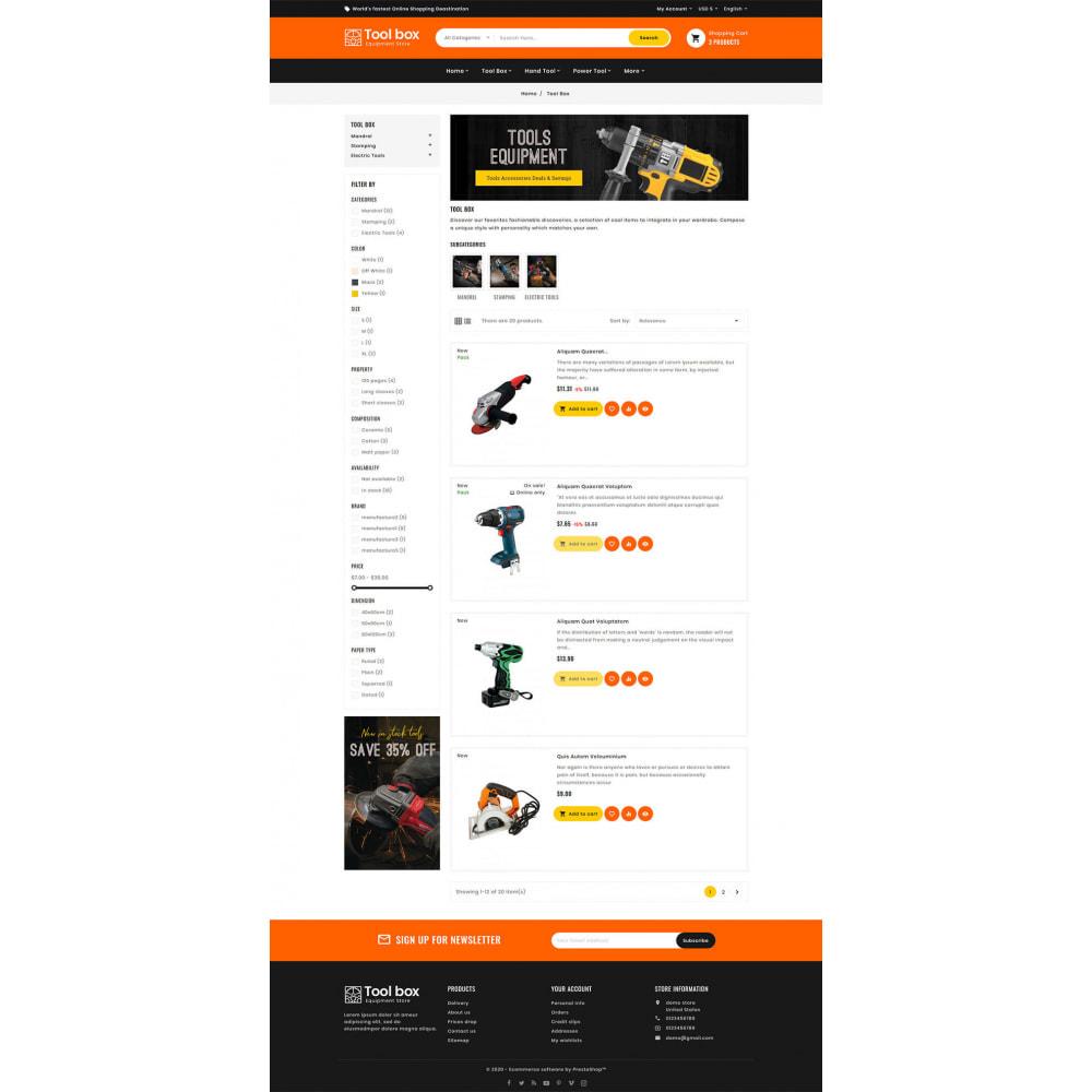theme - Electrónica e High Tech - ToolBox - Drill Tools & Equipment - 9