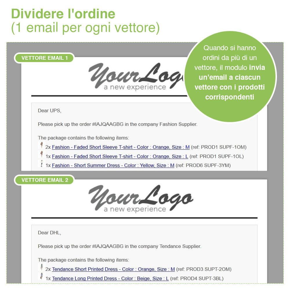 module - Dropshipping - Dropshipping - Email a Fornitori e Corrieri - 9