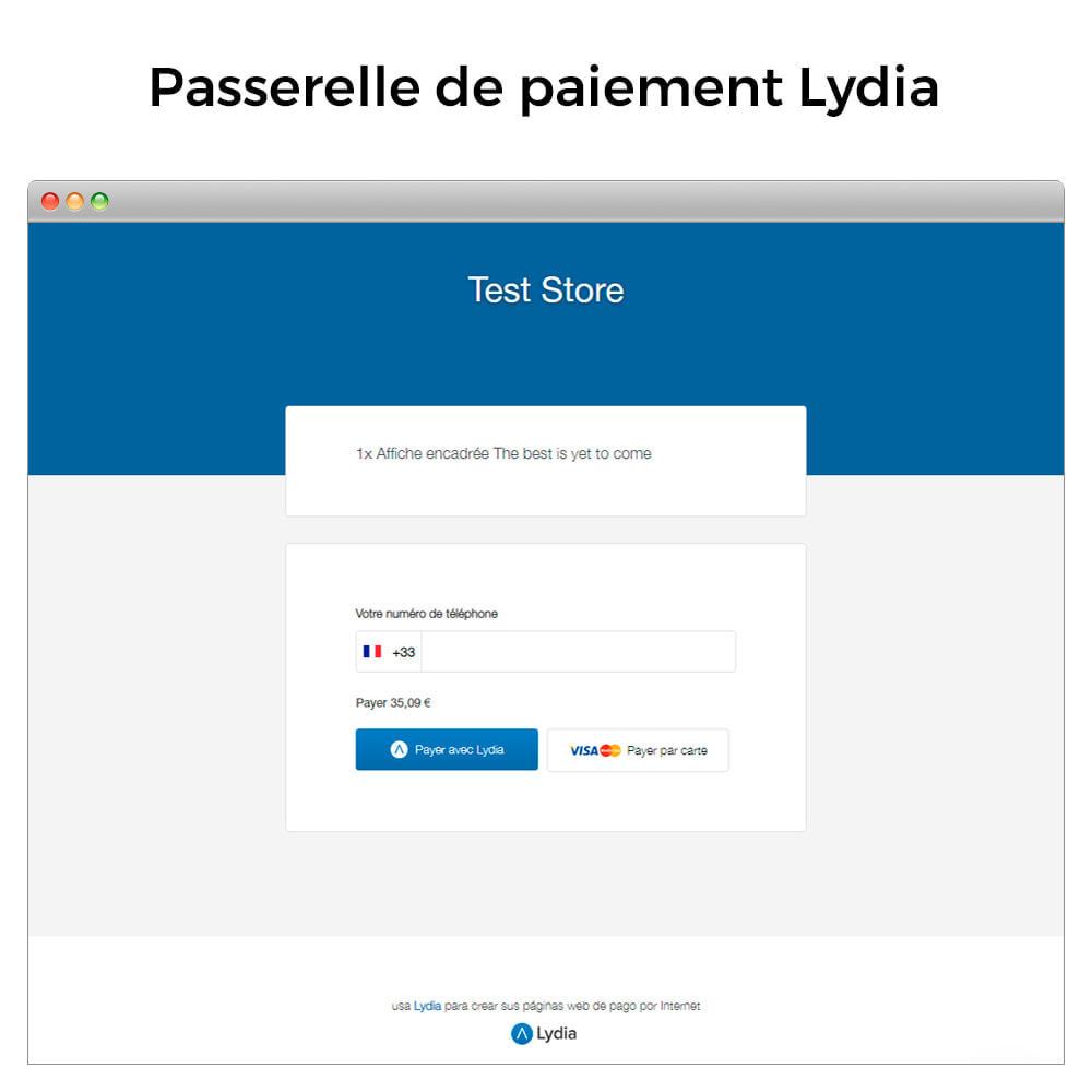 module - Paiement - Lydia Pro - Solution de paiement globale instantanée - 3
