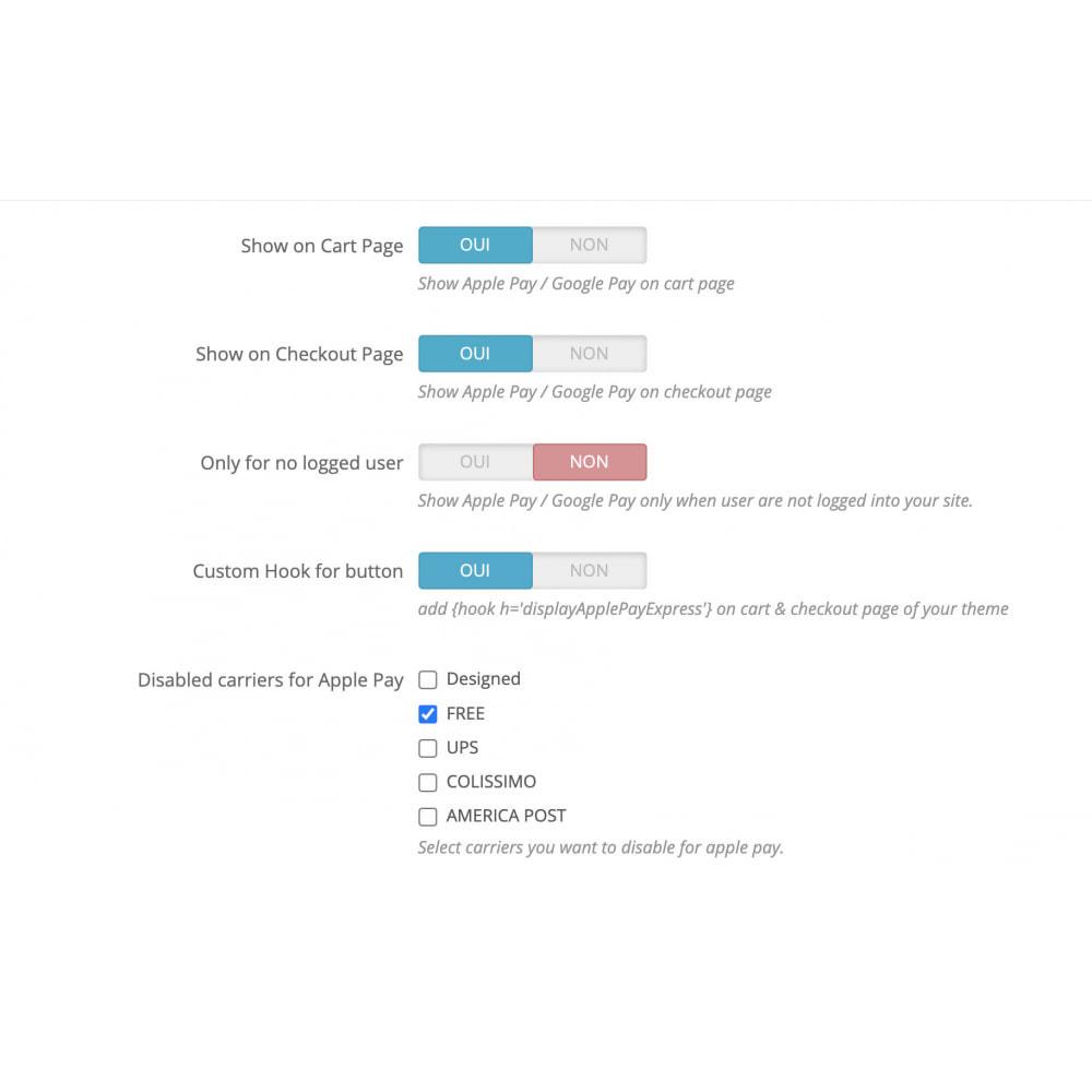 module - Процесс заказа - Apple Pay / Google Pay - 1 Click Checkout - 5