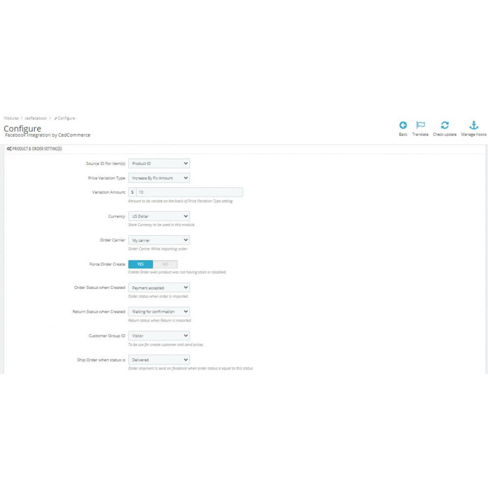 module - Marktplaats (marketplaces) - Facebook Integration - 3