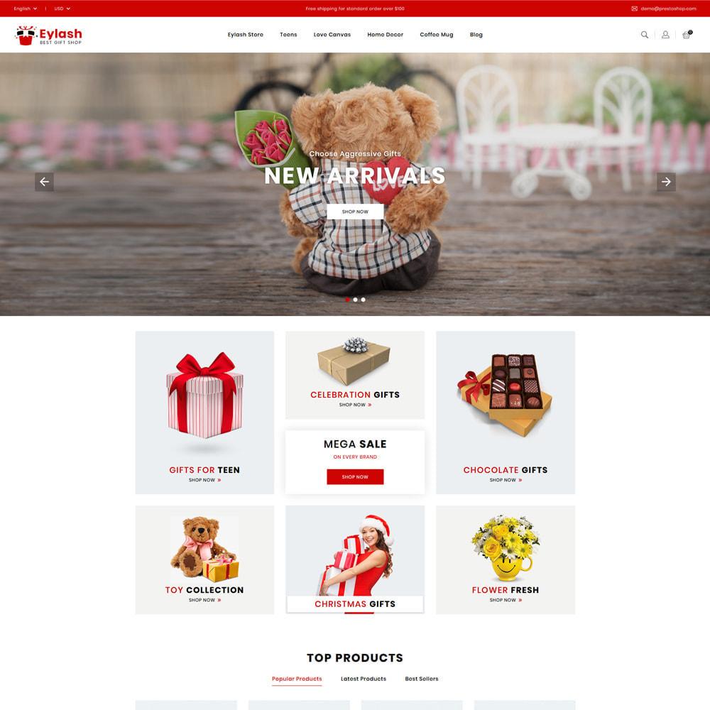 theme - Prezenty, Kwiaty & Uroczystości - Eylash Gifts & Celebrations Shop - 1