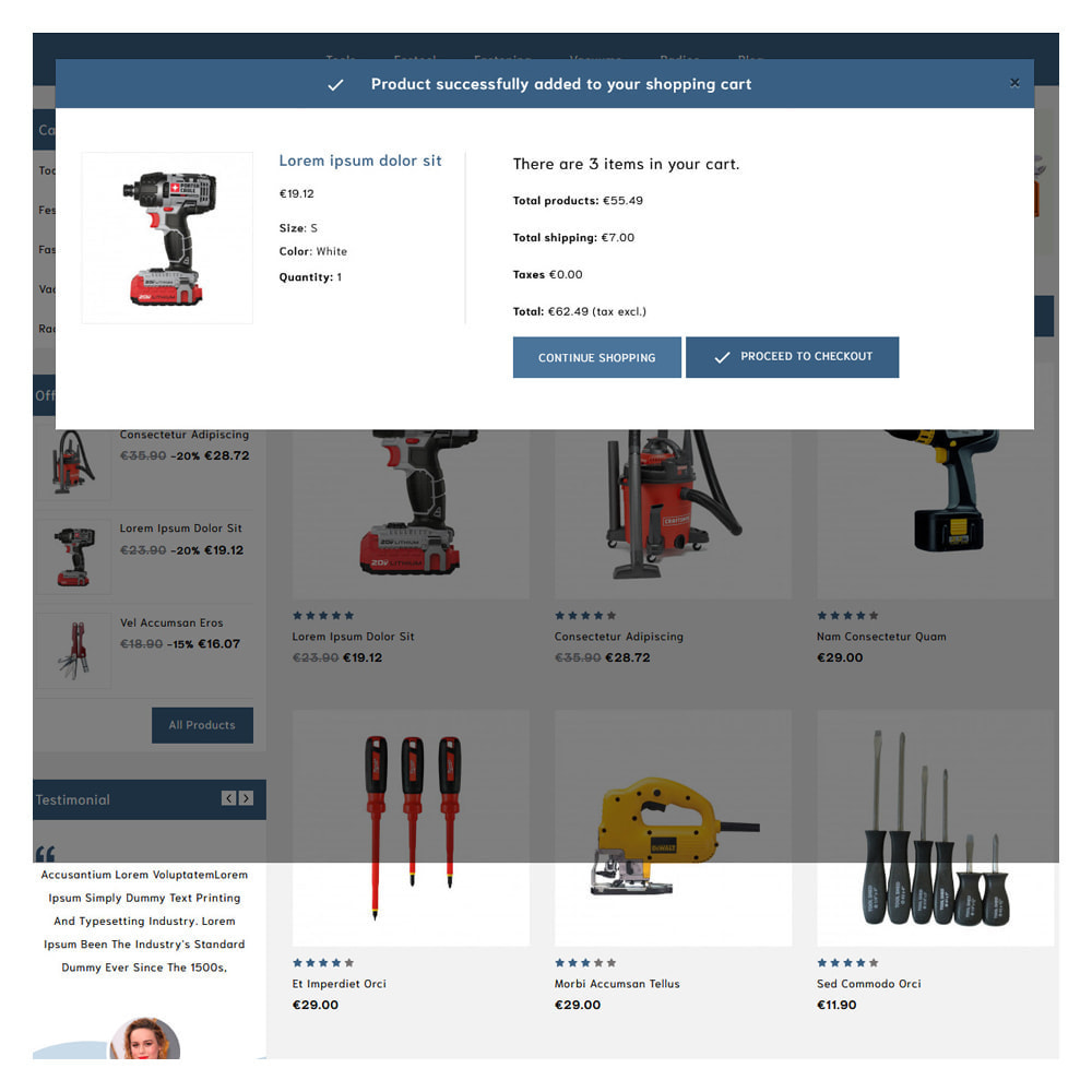 theme - Automotive & Cars - Loogs Home & Garden Tools - 5