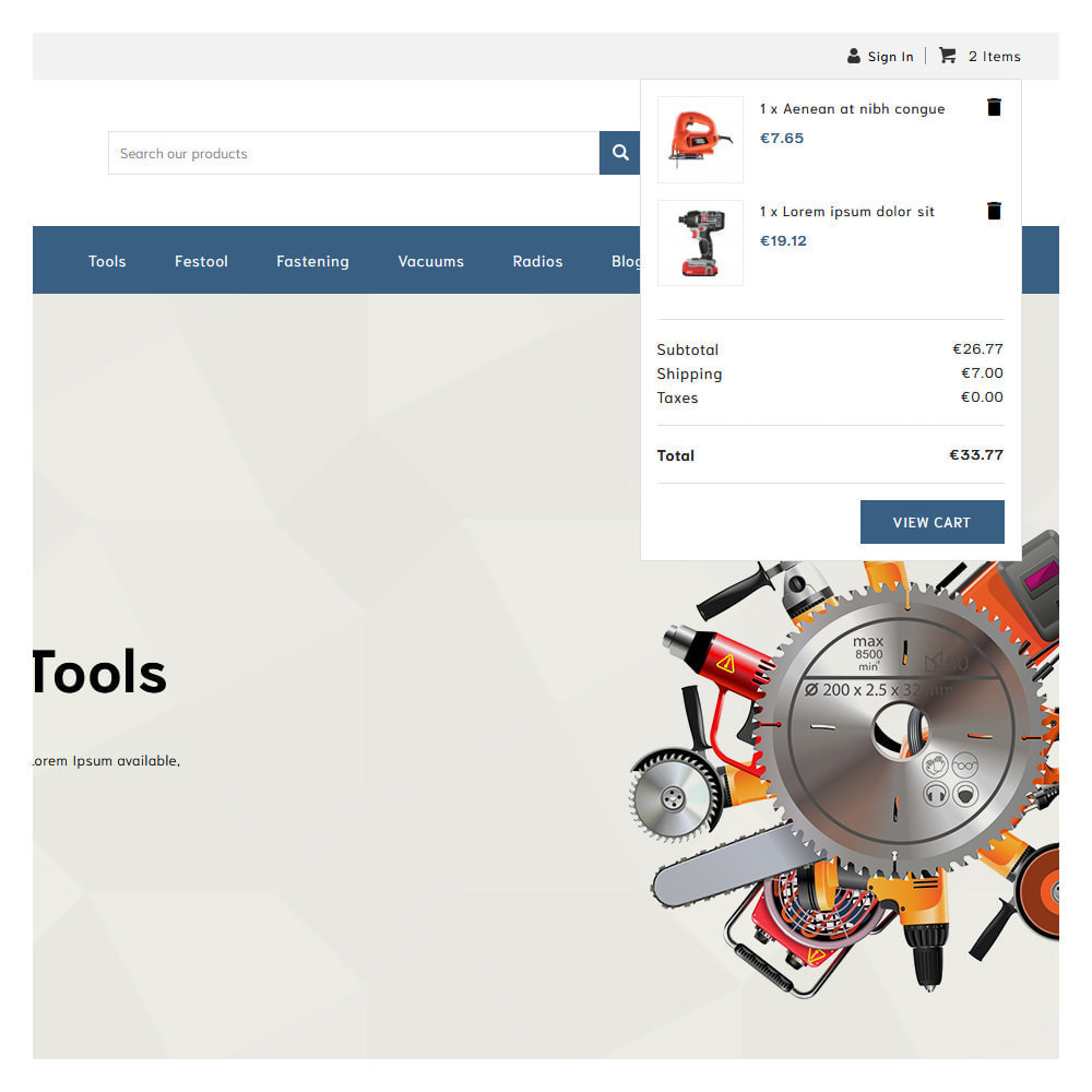theme - Automotive & Cars - Loogs Home & Garden Tools - 6