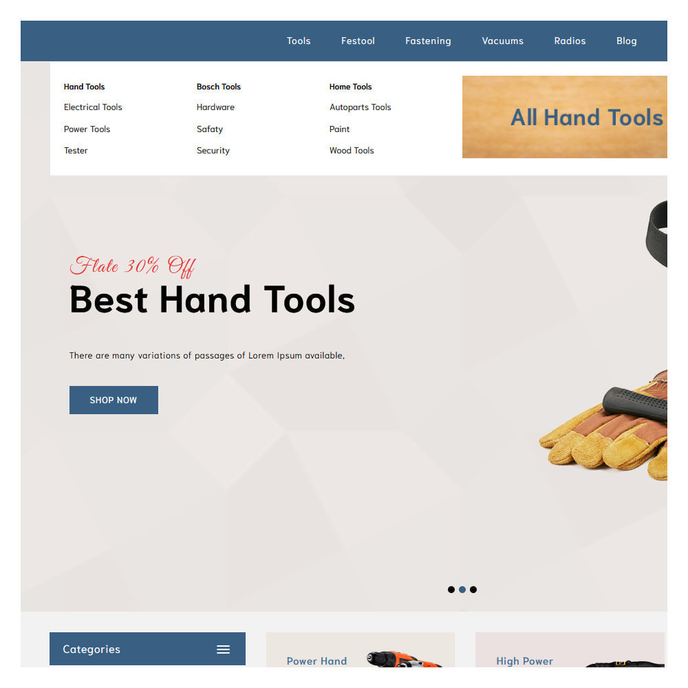 theme - Automotive & Cars - Loogs Home & Garden Tools - 7