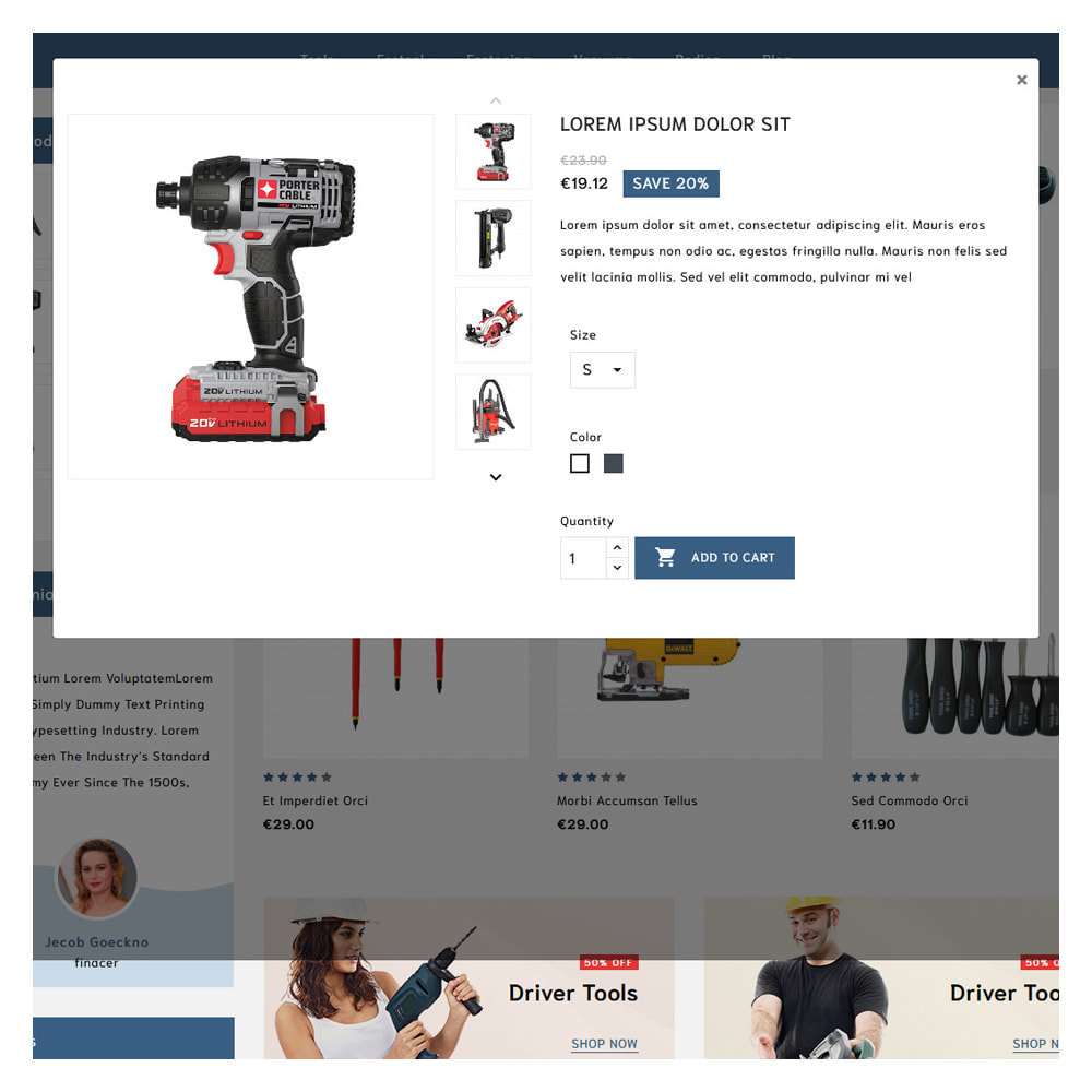 theme - Automotive & Cars - Loogs Home & Garden Tools - 8