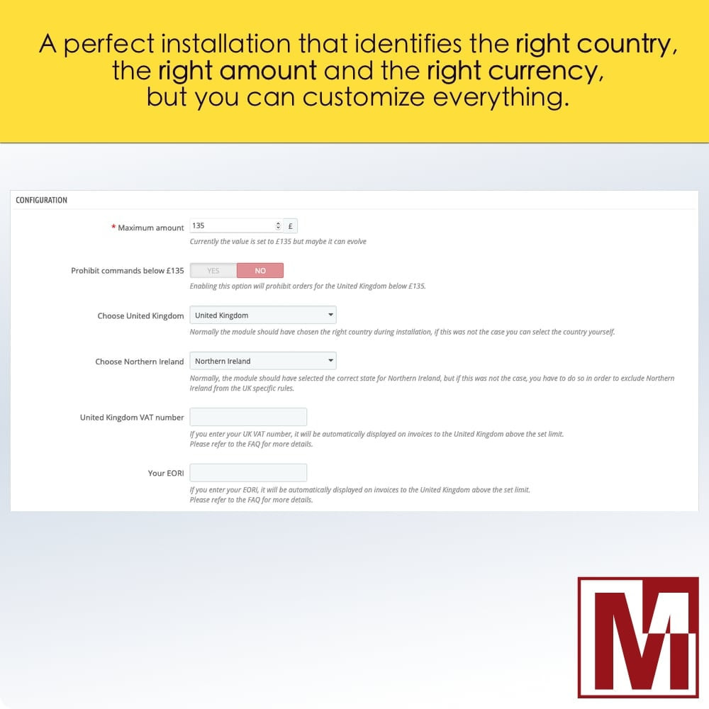 module - Gestione Prezzi - VAT Management United Kingdom Brexit - 2