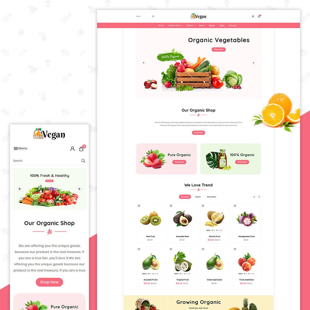 theme - Salute & Bellezza - Vegan Organic–Grocery Store - 1