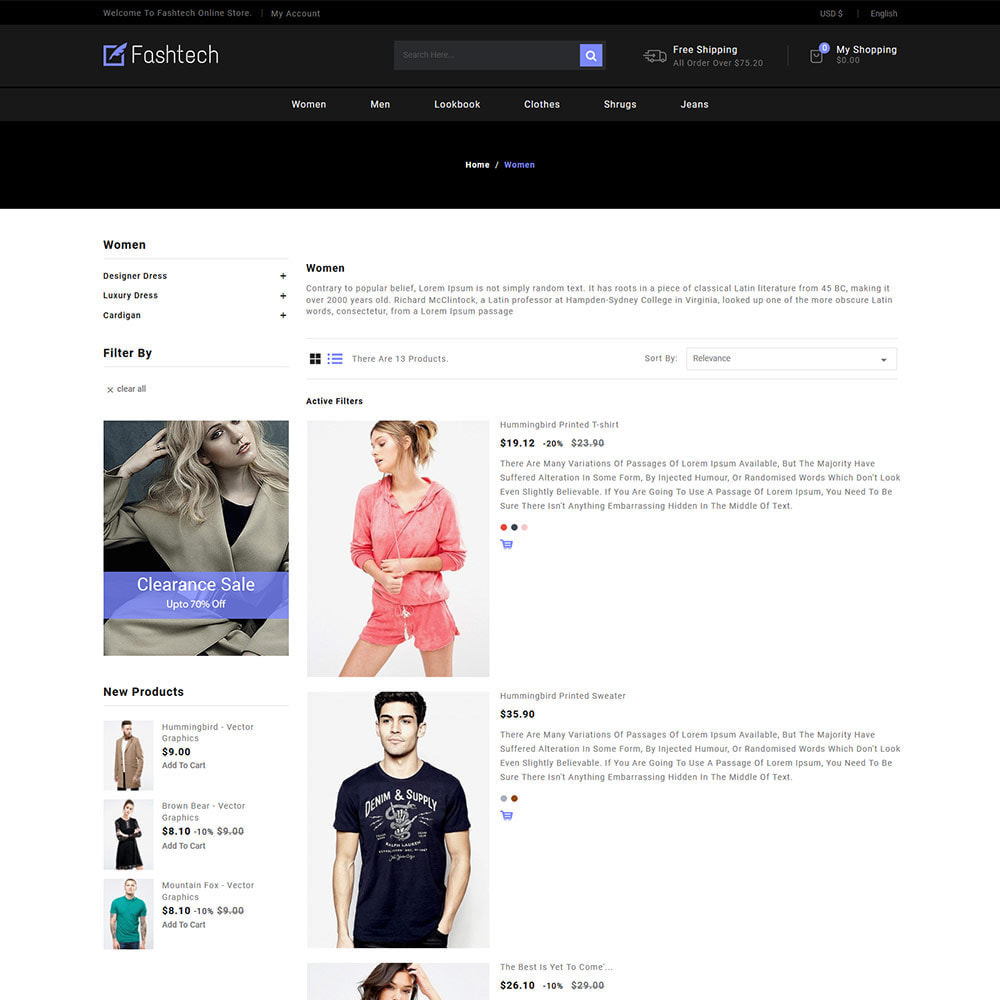 theme - Fashion & Shoes - Fashion Apparels - Women Designer  Store - 4