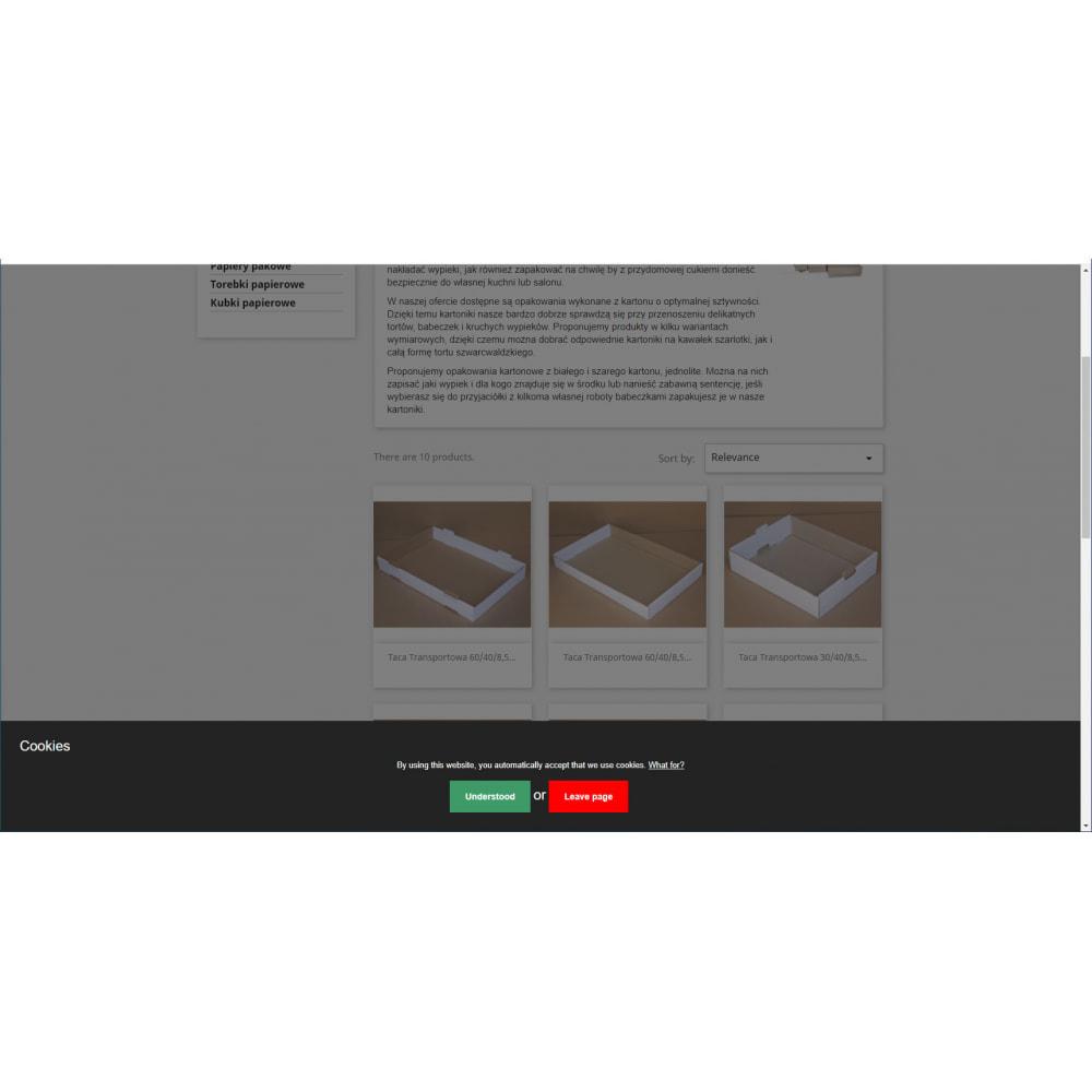 module - Legal - A6 Cookie Law GDPR/LOPD/RODO EU - 1